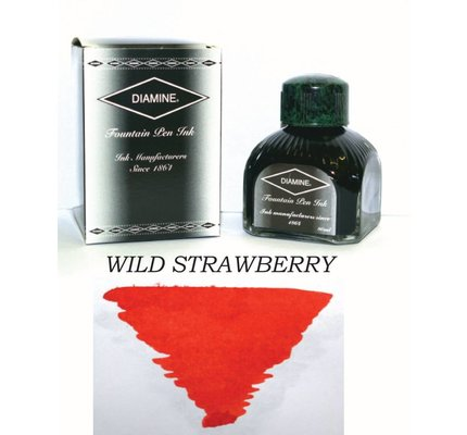 DIAMINE DIAMINE WILD STRAWBERRY - 80ML BOTTLED INK
