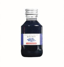 J. HERBIN J. HERBIN 100 ML BOTTLED INK BLEU NUIT
