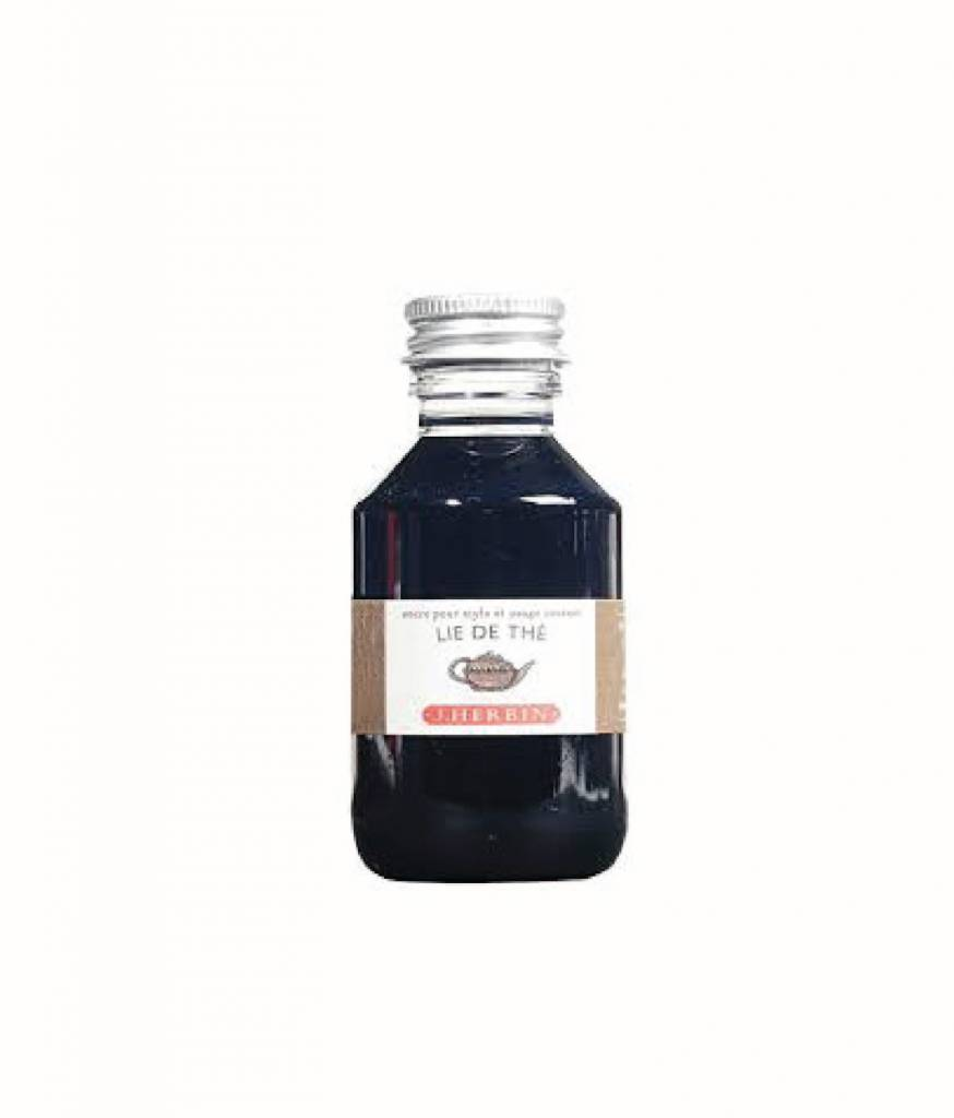 J. HERBIN J. HERBIN 100 ML BOTTLED INK LIE DE THE