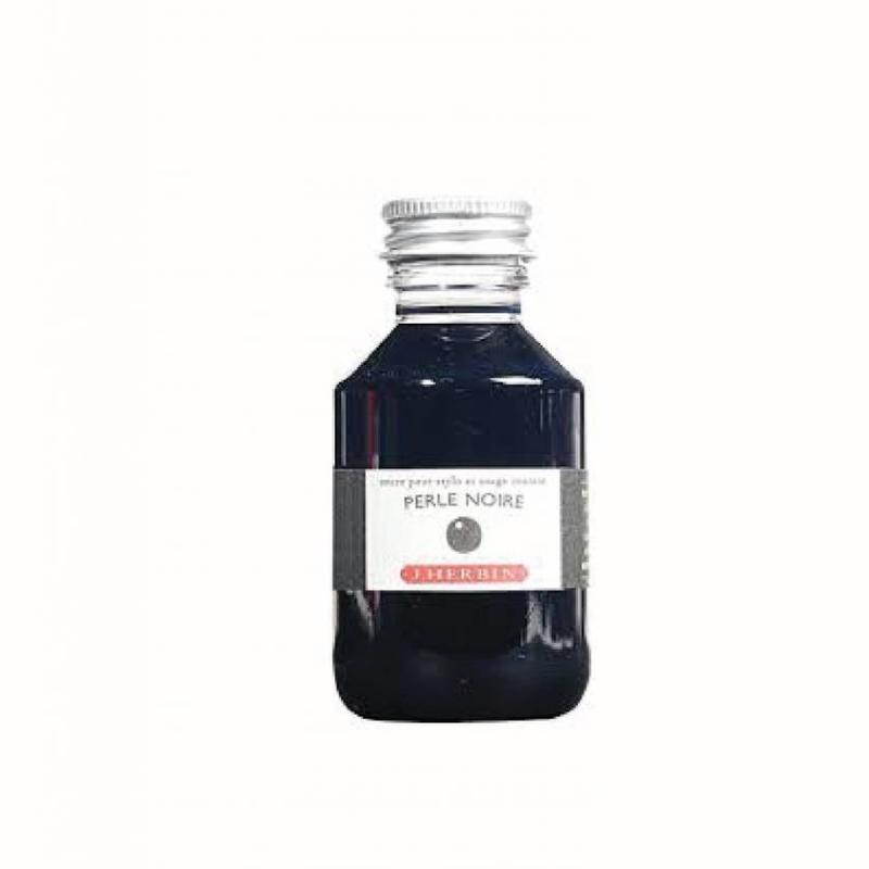 J. Herbin J. Herbin Perle Noire - 100ml Bottled Ink