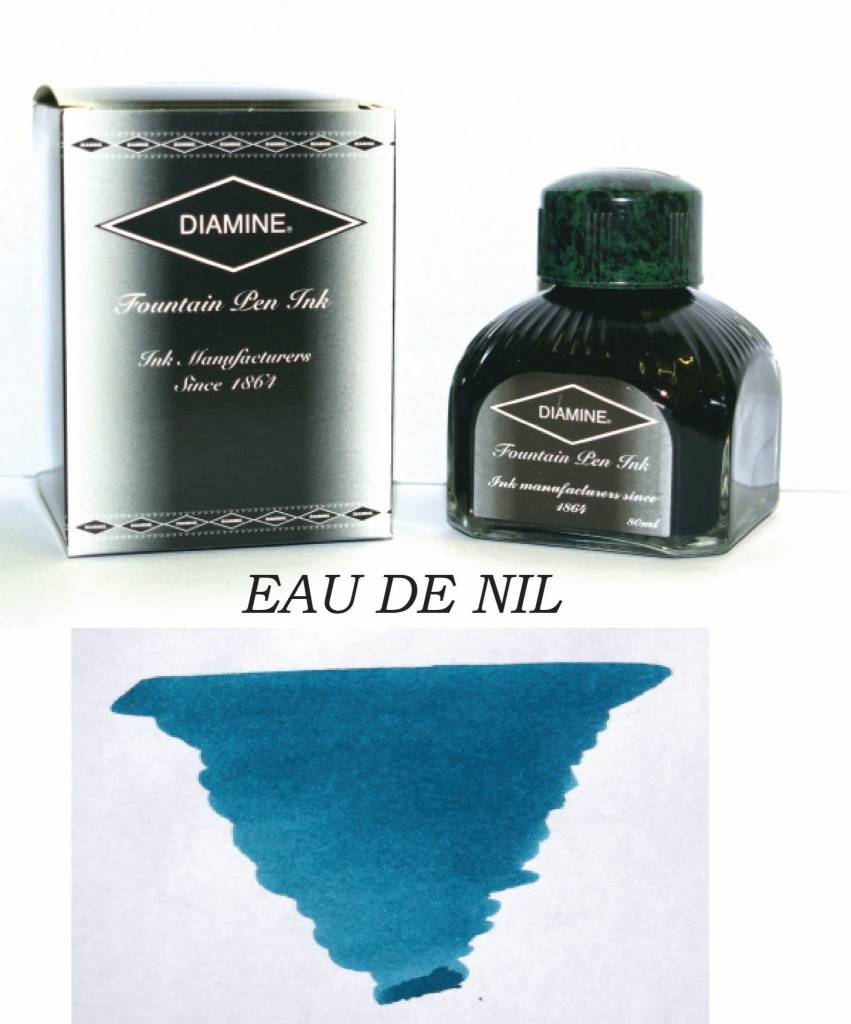 DIAMINE DIAMINE BOTTLED INK 80ML EAU DE NIL