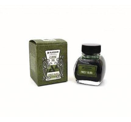 Platinum Platinum Classic Forest Black - 60ml Bottled Ink