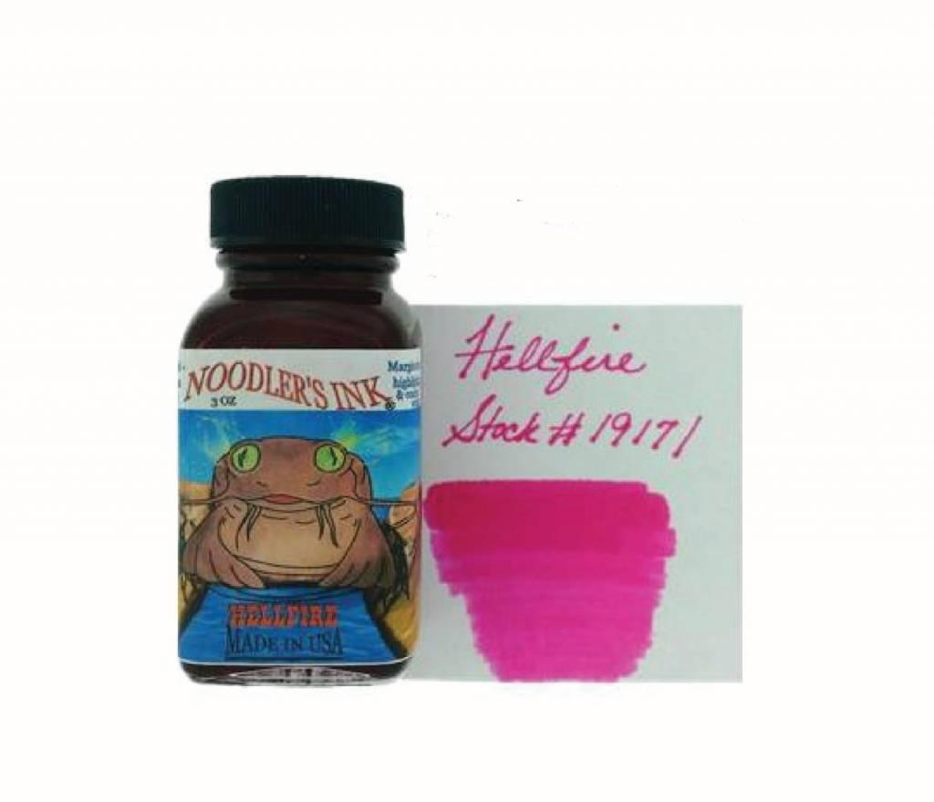 NOODLER'S NOODLER'S BOTTLED INK 3 OZ HELLFIRE