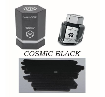 Caran D' Ache Caran D' Ache Cosmic Black - 50ml Bottled Ink