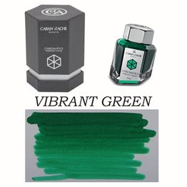 Caran D' Ache Caran D' Ache Vibrant Green - 50ml Bottled Ink