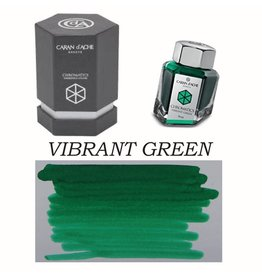 CARAN D'ACHE CARAN D' ACHE VIBRANT GREEN - 50ML BOTTLED INK