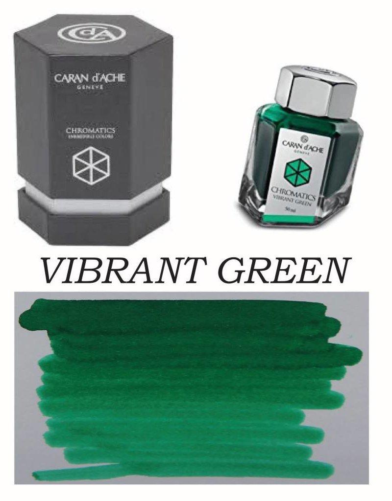 CARAN D'ACHE CARAN D' ACHE INK BOTTLE VIBRANT GREEN
