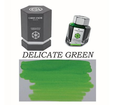 CARAN D'ACHE CARAN D' ACHE DELICATE GREEN - 50ML BOTTLED INK