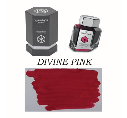Caran D' Ache Caran D' Ache Divine Pink - 50ml Bottled Ink