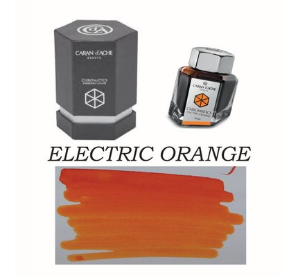CARAN D'ACHE CARAN D' ACHE ELECTRIC ORANGE - 50ML BOTTLED INK