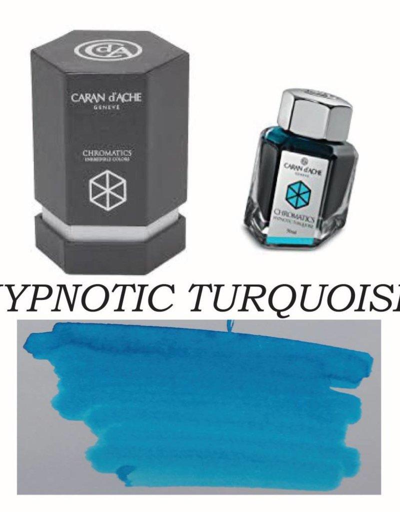 CARAN D'ACHE CARAN D' ACHE HYPNOTIC TURQUOISE - 50ML BOTTLED INK