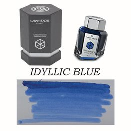 Caran D' Ache Caran D' Ache Idyllic Blue - 50ml Bottled Ink