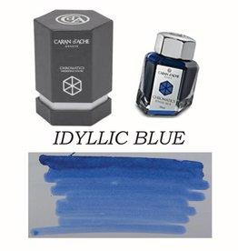 CARAN D'ACHE CARAN D' ACHE IDYLLIC BLUE - 50ML BOTTLED INK