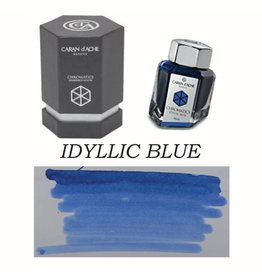 CARAN D'ACHE CARAN D' ACHE IDYLLIC BLUE - 50ML BOTTLED INK