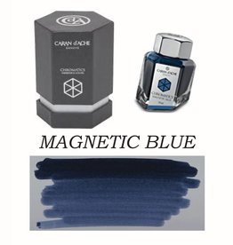CARAN D'ACHE CARAN D' ACHE BOTTLED INK 50 ML MAGNETIC BLUE