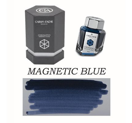 CARAN D'ACHE CARAN D' ACHE MAGNETIC BLUE - 50ML BOTTLED INK