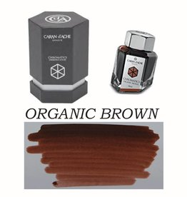 CARAN D'ACHE CARAN D' ACHE BOTTLED INK 50 ML ORGANIC BROWN