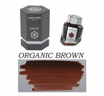 CARAN D'ACHE CARAN D' ACHE ORGANIC BROWN - 50ML BOTTLED INK