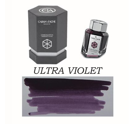 CARAN D'ACHE CARAN D' ACHE ULTRA VIOLET - 50ML BOTTLED INK