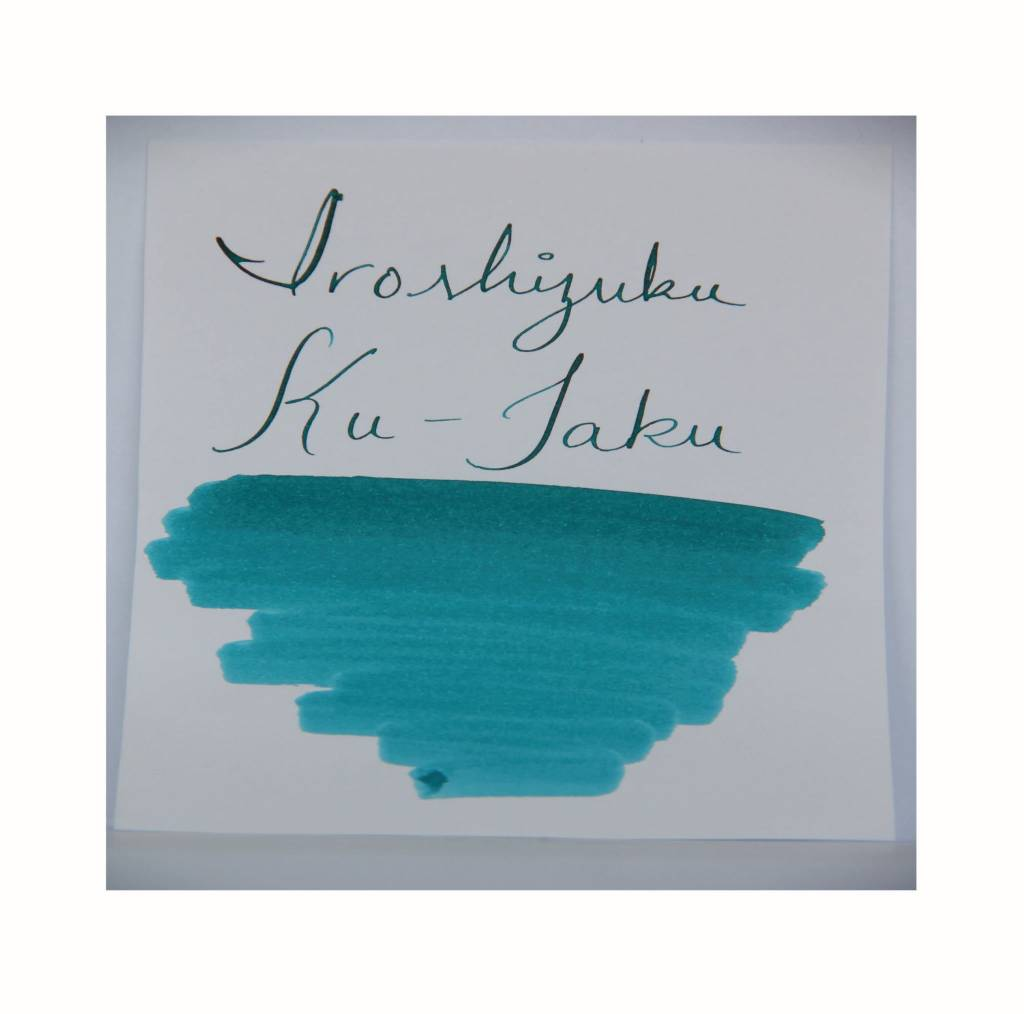 PILOT PILOT IROSHIZUKU KU-JAKU PEACKOCK 50 ML BOTTLED INK