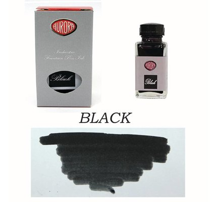 Aurora Aurora Black - 45ml Bottled Ink