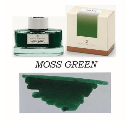 FABER-CASTELL GRAF VON FABER CASTELL MOSS GREEN - 75ML BOTTLED INK