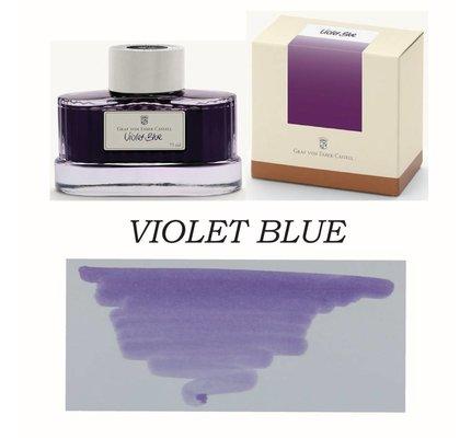 FABER-CASTELL GRAF VON FABER CASTELL VIOLET BLUE - 75ML BOTTLED INK