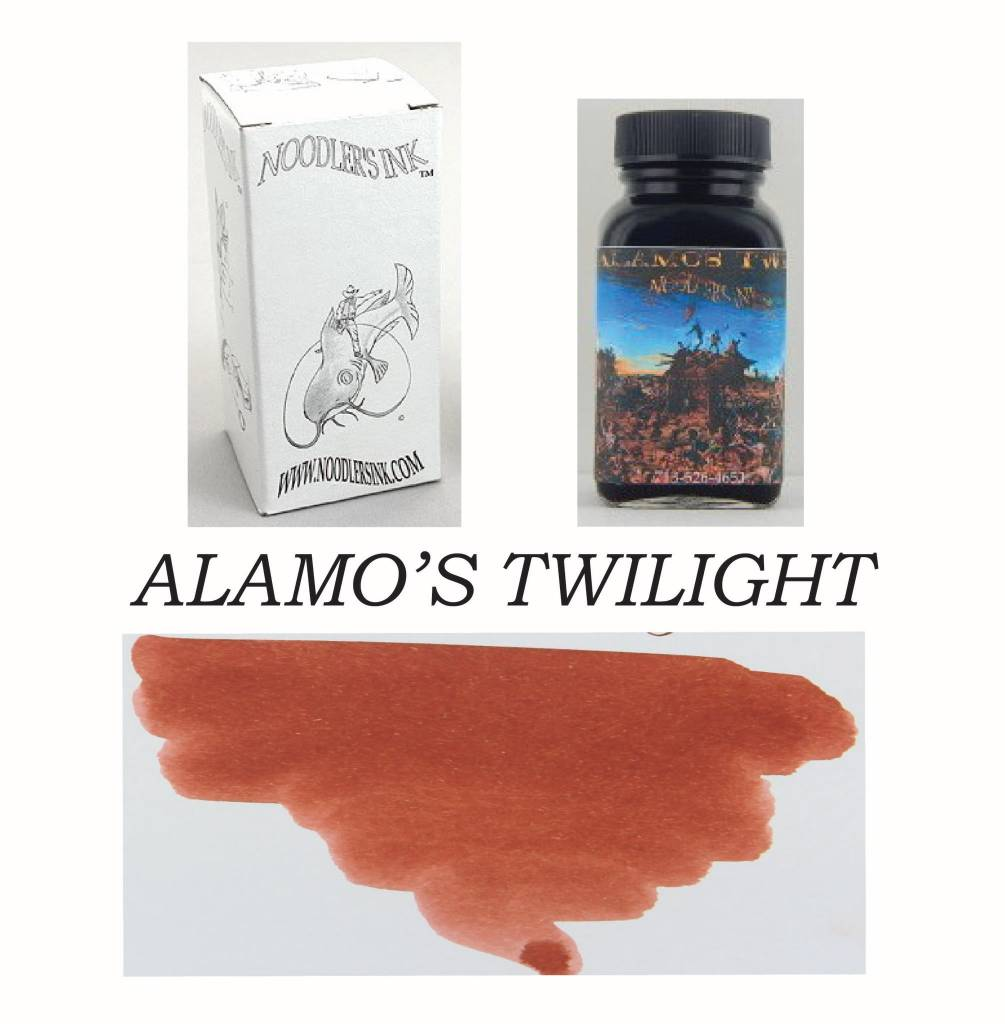 NOODLER'S DROMGOOLE'S EXCLUSIVE BOTTLED INK 3 OZ ALAMO'S TWILIGHT