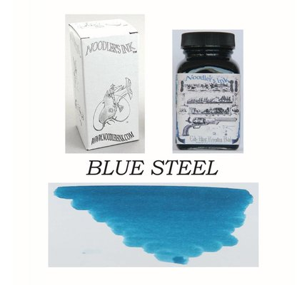 Noodler's DROMGOOLE'S EXCLUSIVE NOODLER'S BLUE STEEL - 3OZ BOTTLED INK