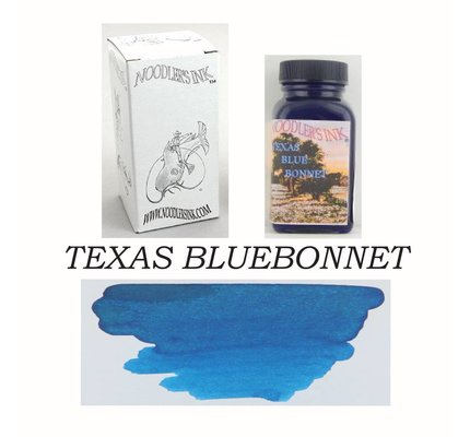 Noodler's DROMGOOLE'S EXCLUSIVE NOODLER'S TX BLUEBONNET - 3OZ BOTTLED INK