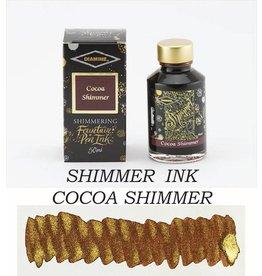 DIAMINE DIAMINE SHIMMERING BOTTLED INK 50ML - COCOA SHIMMER (GOLD)