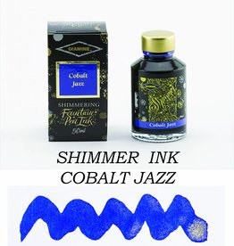 DIAMINE DIAMINE BOTTLED SHIMMERING INK 50 ML COBALT JAZZ