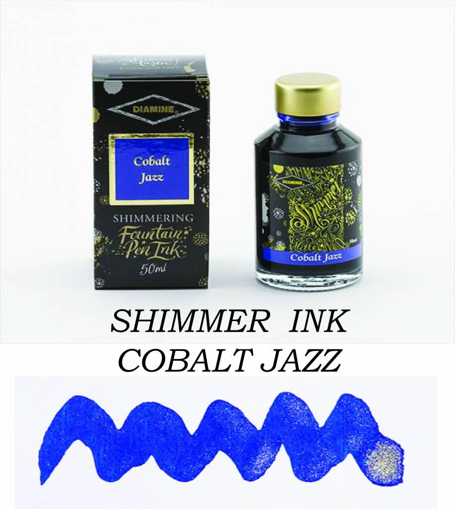 DIAMINE DIAMINE SHIMMERING INK 50 ML COBALT JAZZ