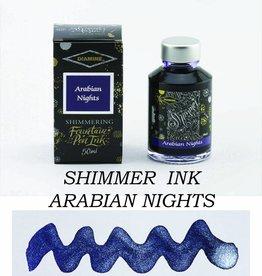 DIAMINE DIAMINE SHIMMERING BOTTLED INK 50 ML - ARABIAN NIGHTS