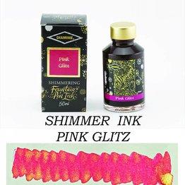 Diamine Diamine Shimmering Pink Glitz (Gold) - 50ml Bottled Ink