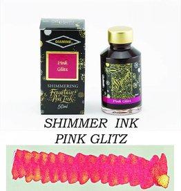 DIAMINE DIAMINE BOTTLED SHIMMERING INK 50 ML PINK GLITZ
