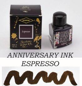 DIAMINE DIAMINE ESPRESSO - 40ML ANNIVERSARY BOTTLED INK