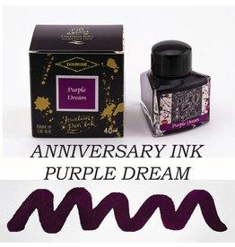 DIAMINE DIAMINE ANNIVERSARY BOTTLED INK 40ML - PURPLE DREAM