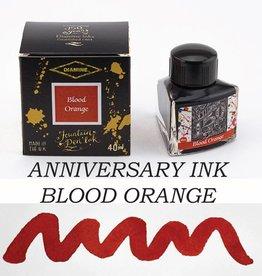 DIAMINE DIAMINE BLOOD ORANGE - 40ML ANNIVERSARY BOTTLED INK