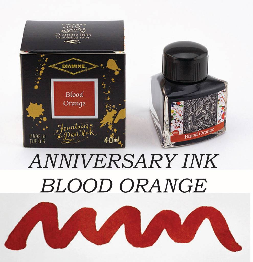 DIAMINE DIAMINE ANNIVERSARY INK BLOOD ORANGE
