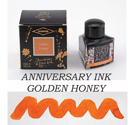 DIAMINE DIAMINE ANNIVERSARY BOTTLED INK 40ML - GOLDEN HONEY