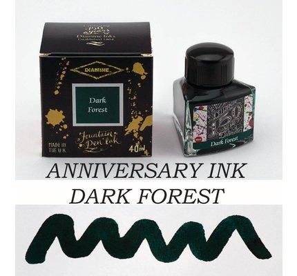 DIAMINE DIAMINE ANNIVERSARY BOTTLED INK 40ML - DARK FOREST