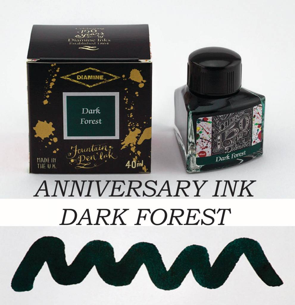 DIAMINE DIAMINE ANNIVERSARY INK DARK FOREST
