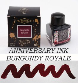 DIAMINE DIAMINE BURGUNDY ROYALE - 40ML ANNIVERSARY BOTTLED INK