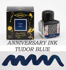 DIAMINE DIAMINE TUDOR BLUE - 40ML ANNIVERSARY BOTTLED INK