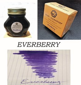 WAHL-EVERSHARP BOTTLED INK EVERBERRY