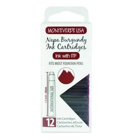 MONTEVERDE MONTEVERDE BURGUNDY - INK CARTRIDGES
