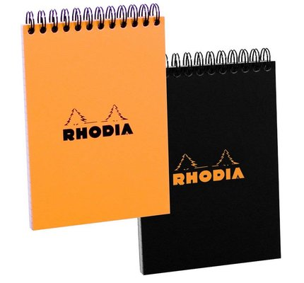 RHODIA RHODIA TOP WIREBOUND NOTEPAD DOTTED