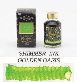 DIAMINE DIAMINE GOLDEN OASIS - 50ML SHIMMERING BOTTLED INK