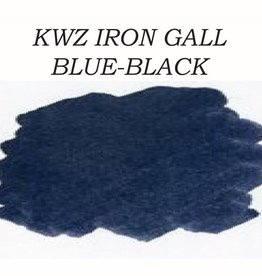 KWZ INK KWZ IRON GALL BOTTLED INK 60 ML BLUE BLACK